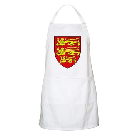 England Coat of Arms BBQ Apron