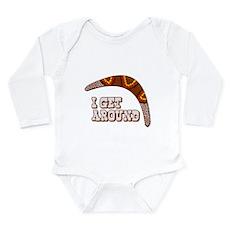I Get Around Long Sleeve Infant Bodysuit