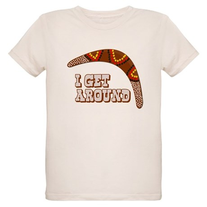 I Get Around Organic Kids T-Shirt
