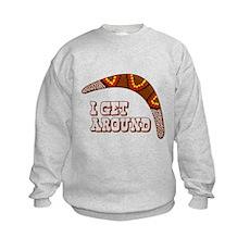 I Get Around Kids Sweatshirt