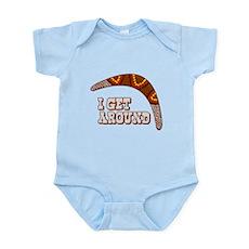 I Get Around Infant Bodysuit
