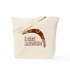 I Get Around Tote Bag