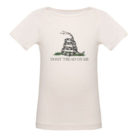 Don't Tread On Me Organic Baby T-Shirt