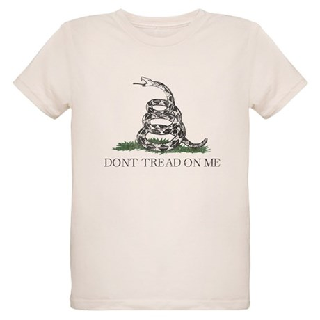 Don't Tread On Me Organic Kids T-Shirt