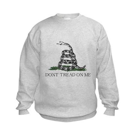 Don't Tread On Me Kids Sweatshirt