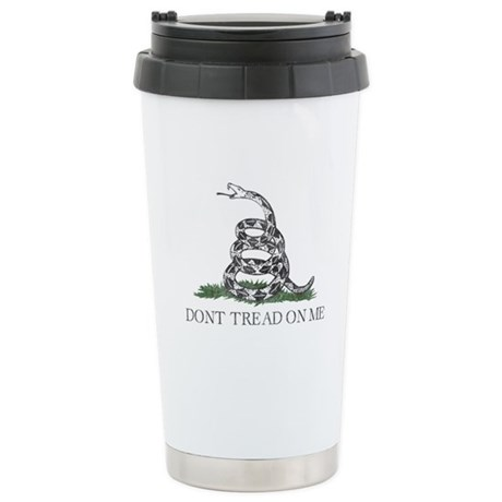 Don't Tread On Me Ceramic Travel Mug