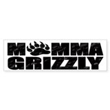 Momma Grizzly Bumper Sticker