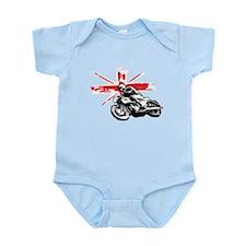 UNION JACK CAFE RACER Infant Bodysuit