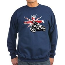 UNION JACK CAFE RACER Sweatshirt