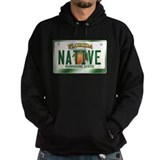 """NATIVE"" Florida License Plate Hoodie"