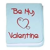 Be My Valentine baby blanket