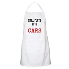 I still play with cars Apron