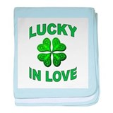 LUCK OF THE IRISH baby blanket