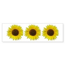 Helaine's Sunflower Bumper Sticker