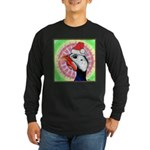 Have a Very Guinea Christmas! Long Sleeve Dark T-S