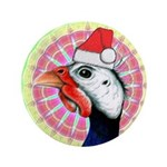 "Have a Very Guinea Christmas! 3.5"" Button (10"