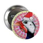 "Have a Very Guinea Christmas! 2.25"" Button (1"