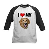 I Love My Golden Retriever 2 Tee