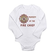 Fire Chief Property Onesie Romper Suit