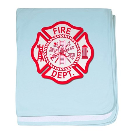 Firefighter Baby baby blanket