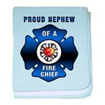 Fire Chief's Nephew baby blanket