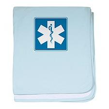 EMT EMS Paramedics baby blanket