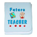 Future Teacher baby blanket