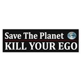Funny Save Planet ~ Bumper Sticker