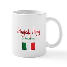 Dominick the Italian Christmas Donkey Small Mug