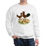 Red Polish Chickens Sweatshirt