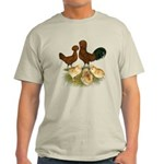 Red Polish Chickens Light T-Shirt