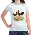 Red Polish Chickens Jr. Ringer T-Shirt