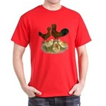 Red Polish Chickens Dark T-Shirt