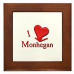 I LOVE Monhegan Framed Tile
