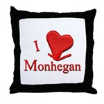 I LOVE Monhegan Throw Pillow