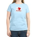 I LOVE Monhegan Women's Pink T-Shirt