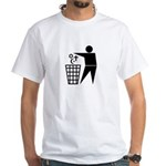 Atheist White T-Shirt