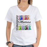 Awareness Matters Ribbons Shirt