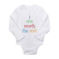 Cute Women Long Sleeve Infant Bodysuit