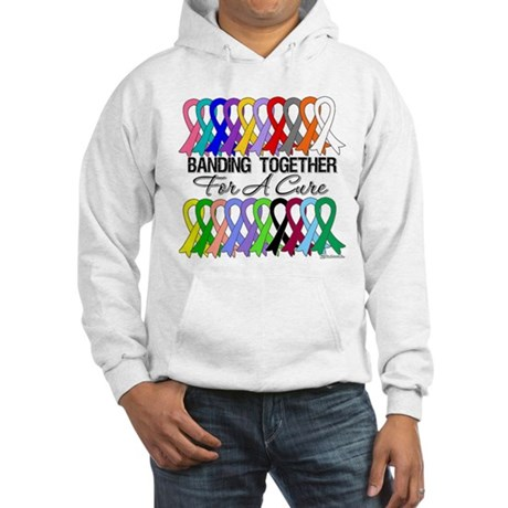 Banding Together For A Cure Hooded Sweatshirt