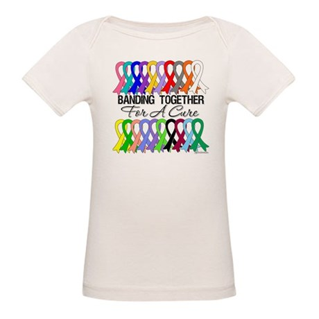 Banding Together For A Cure Organic Baby T-Shirt