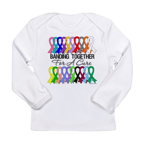 Banding Together For A Cure Long Sleeve Infant T-S