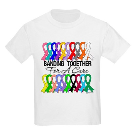 Banding Together For A Cure Kids Light T-Shirt