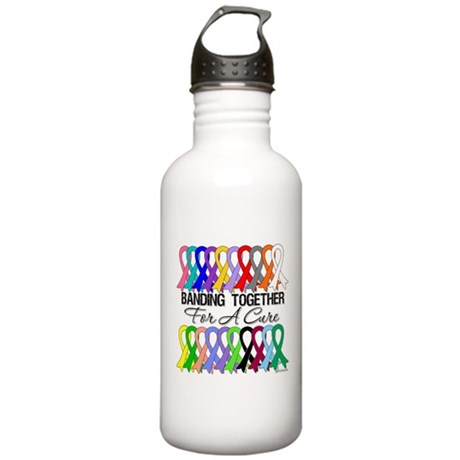 Banding Together For A Cure Stainless Water Bottle