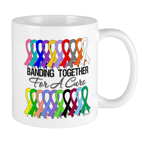 Banding Together For A Cure Mug