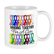 Banding Together For A Cure Small Mug