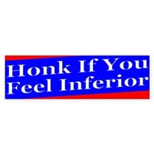 Hoonk If Bumper Bumper Sticker