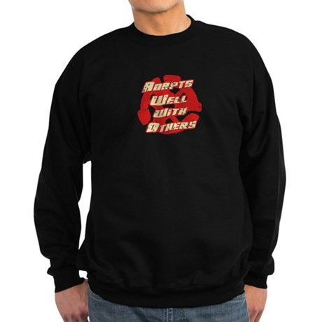 Adapts Well Dark Sweatshirt