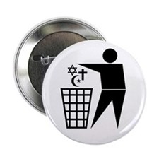 "Trash Religion 2.25"" Button (10 pack)"