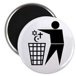"Trash Religion 2.25"" Magnet (10 pack)"